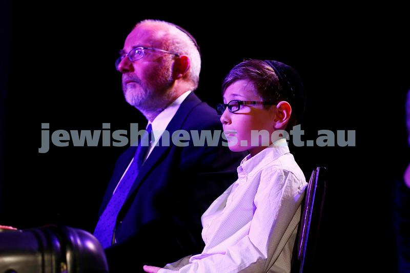 "29-10-16. Kadimah's production of ""Sholem Aleichem: I'm Not Dead Yet"".  Photo: Peter Haskin"