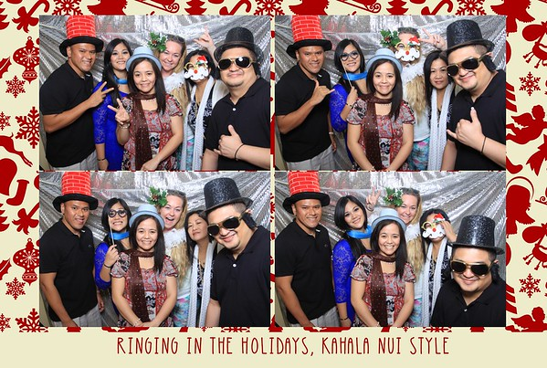 Kahala Nui Holiday Party 2014 (Fusion Photo Booth)