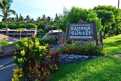 Kahana Sunset - Maui