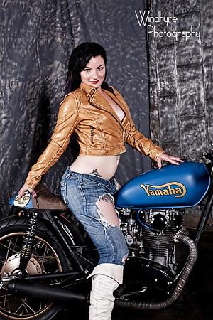 Kahla Shae Cafe Racer #1