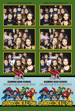 Kaimuki High School Homecoming 2015 (Fusion Photo Booth)