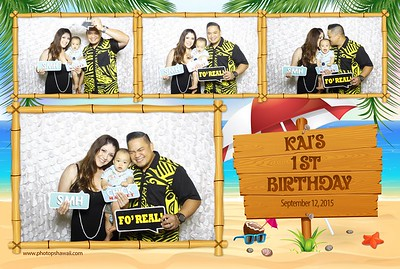 Kai's 1st Birthday (Fusion Photo Booth)