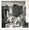 DK-3 About September 1967, in the barracks at Fort Hood, wearing civvies, just prior to shipping out to Vietnam, are, R to L, Don Kaiser (TX, WIA 2 Feb 68), Phillip Martocci (WA), Sgt. ?, and 3rd Platoon medic (maybe Kirk?). Kaiser was 20 at the time