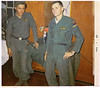 "DK82: A friend, left, and James ""Jimmy"" Lopp (IL, KIA 2/8/68) in happier times at their Fort Hood barracks"