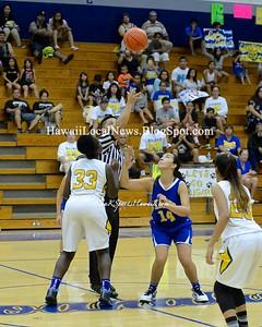 Kaiser Cougars JV Girls Basketball vs Leilehua D-1 Championship