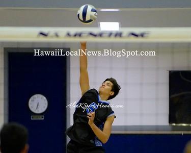 Kaiser Cougars vs Moanalua Varsity Boys Volleyball