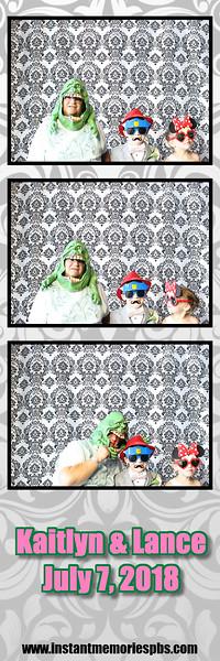 Kaitlyn & Lance's Wedding 7-7-2018