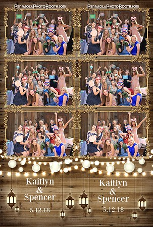 Kaitlyn & Spencer's Wedding 5-12-2018