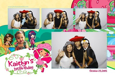Kaitlyn's 1st Birthday (Fusion Photo Booth)