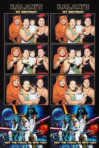 Kalani's 1st Birthday (Stand Up Photo Booth)