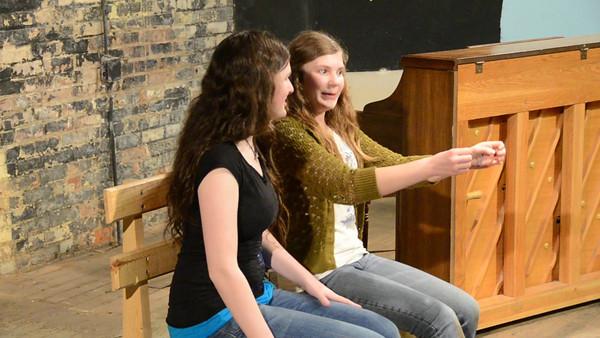 """Did I Pass?"" Abby Kuhlmann and Michaela Schulz"