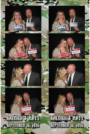 Kaleigh and Matt's Wedding 9-16-16