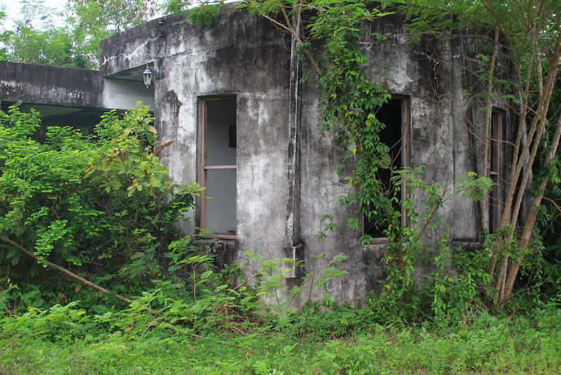deserted houses - last row on a south side