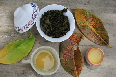 Oolong Tea from Taiwan - now on Phangan