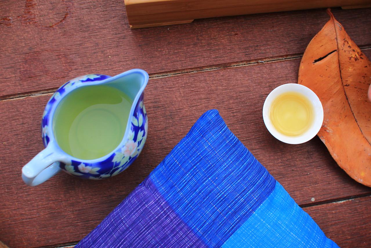 te guanin tea at our Phangan tea house
