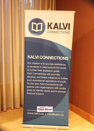 Kalvi Connections Appreciations Nite- June 3, 2016, Toronto.
