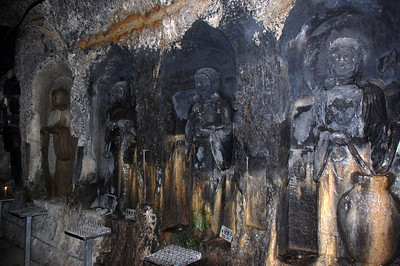 Benten-kutsu Cave at Hasadera Temple