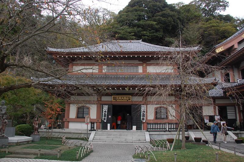 Daikoku-do Hall at Hasadera Temple