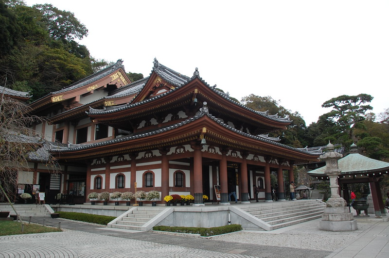 Kannon-do Hall at Hasadera Temple