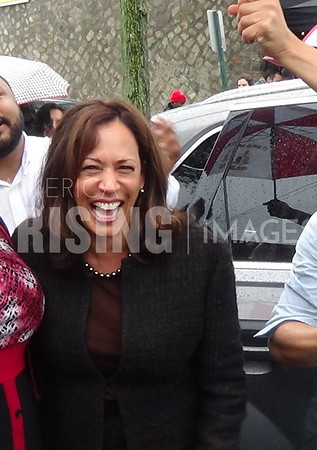 Kamala Harris Speaks At A GOTV Rally At Blue Bee Cider In Richmond, VA