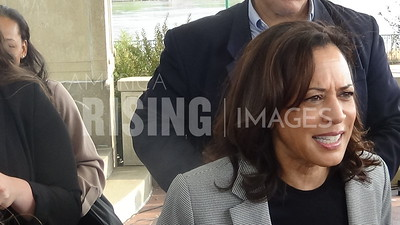 Kamala Harris At Campaign Event In Sioux City, IA