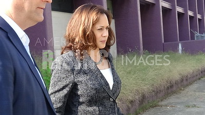 Kamala Harris At Campaign Rally In Columbus, OH