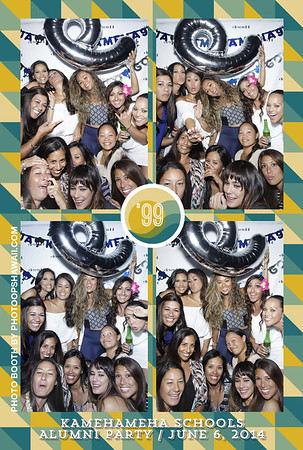 Kamehameha '99 Alumni Party (Stand Up Photo Booth)