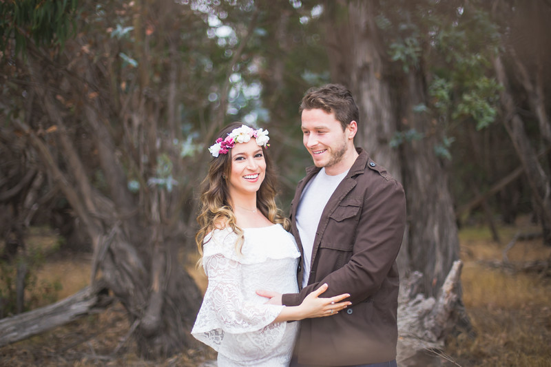 Kamila's First Maternity Session - Butterfly Preserve