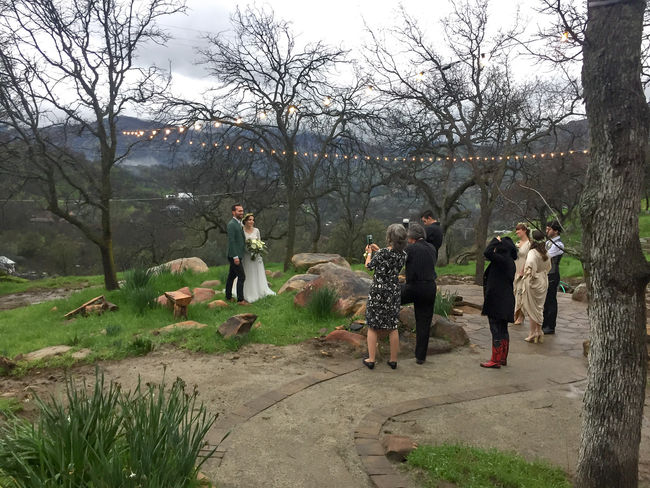 Sean and Kamille's wedding in Three Rivers