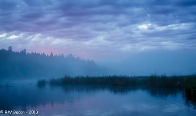Lac Le Jeune Fog