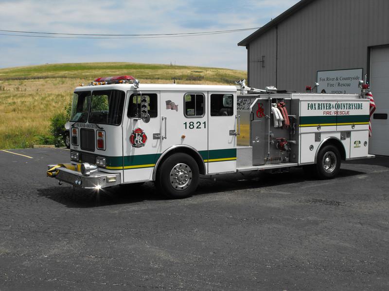 Kane County Illinois Fire Appartus