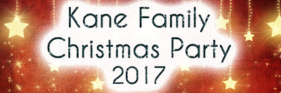 Kane Family Christmas 2017