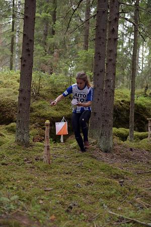 Kirsi Nurmi, IFK Göteborg 2. osuudella, kuva: Pirjo Valjanen