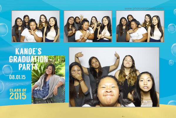 Kanoe's Graduation Party (Fusion Photo Booth)