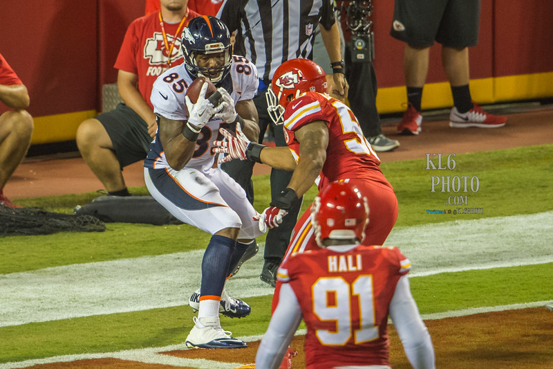 NFL Football 2015: Denver Broncos vs Kansas City Chiefs SEPT 17