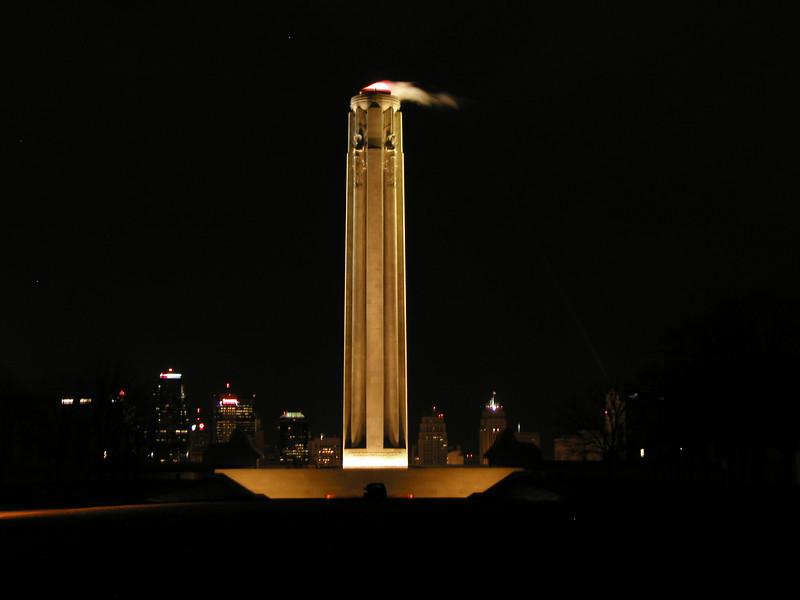 Liberty Memorial at Night  (WWI Memorial)