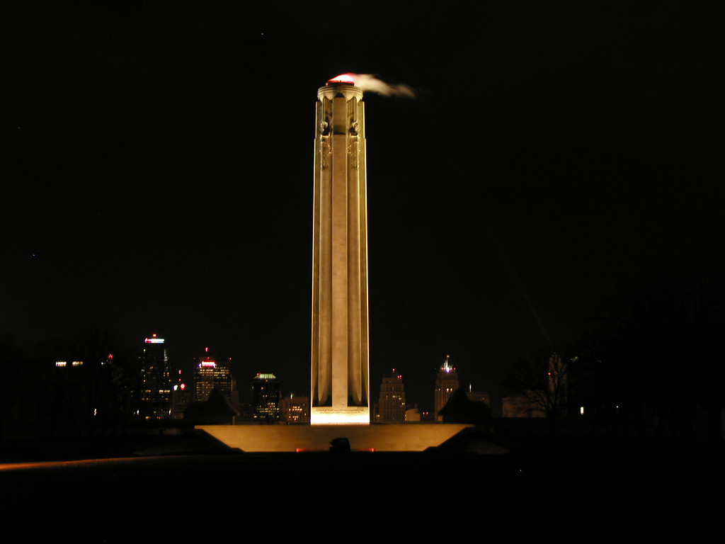 Liberty Memorial at Night  (WWI Memorial)