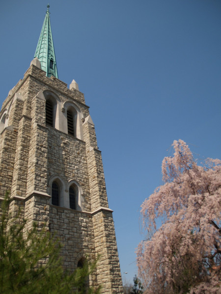 Church on Wornall in the Spring