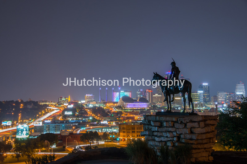 KC0063 - The Scout & Downtown at Night