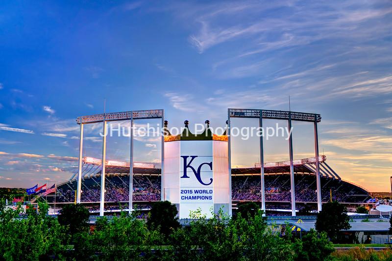 KC0042 - Kauffman Stadium World Champions