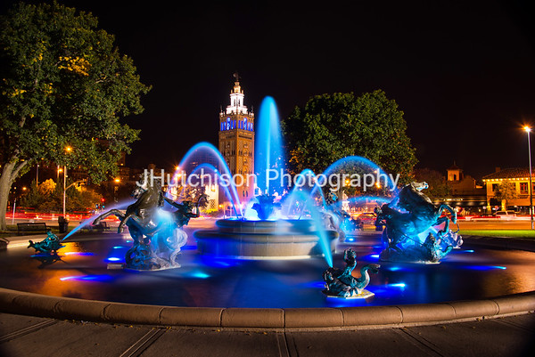 KC0026 - JC Nichols Fountain in Blue 2