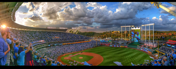 Kansas City Royals - Playoffs Sunset