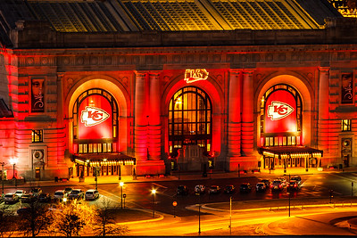 Union Station In Chiefs Red