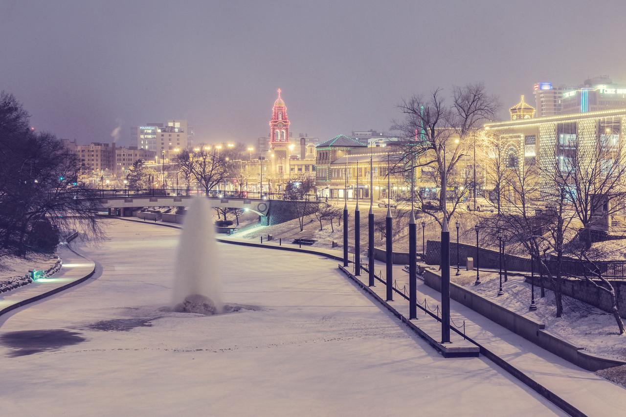 Country Club Plaza Snow