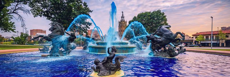 Nichols Fountain Pano