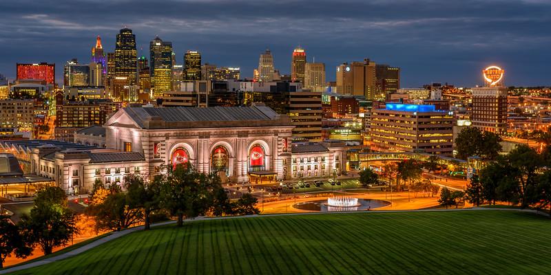 Kansas City Skyline - Fall 2019