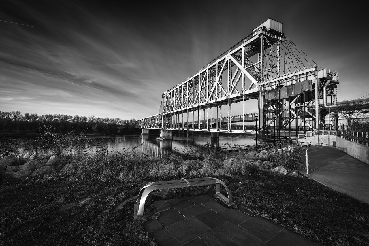 ASB Bridge - Black and White