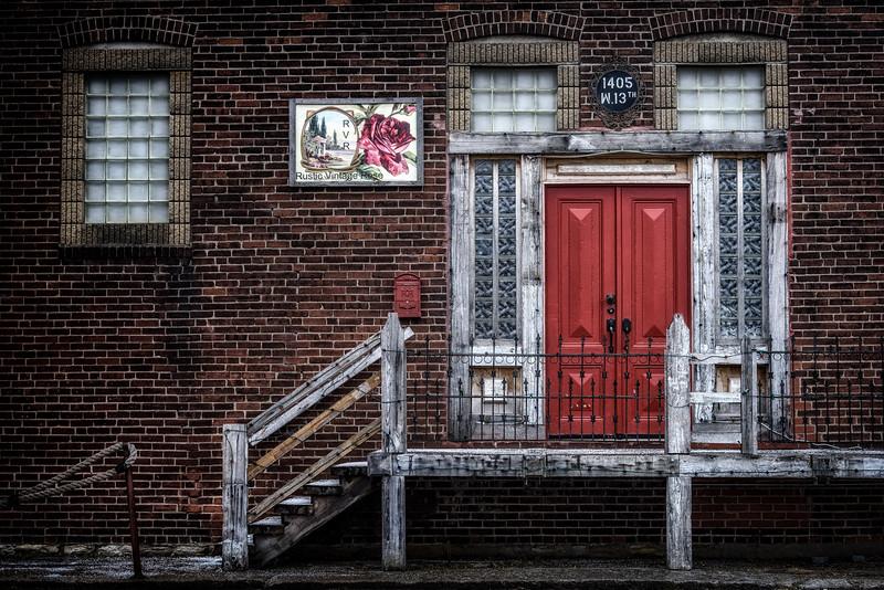 West Bottoms Red Door