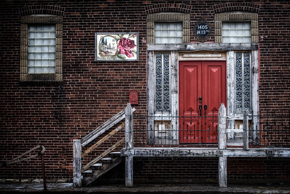 West Bottoms Red Door