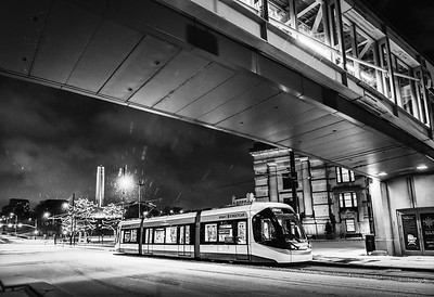 Streetcar, Union Station and Liberty Memorial
